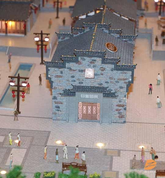 印象邻州古建筑模型
