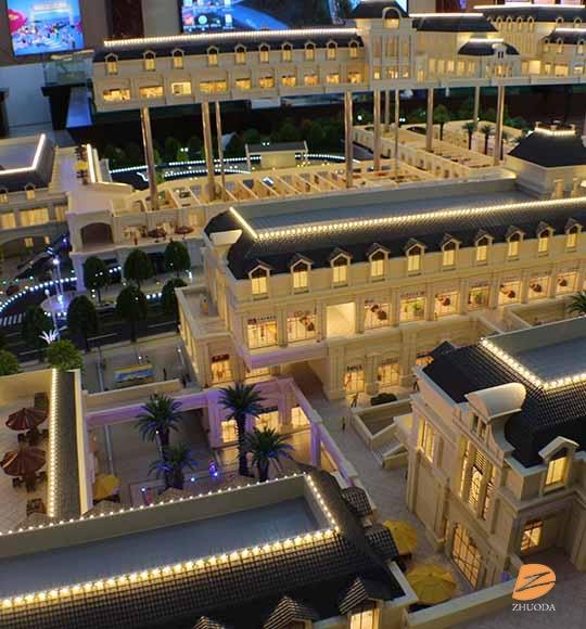 商业街建筑模型