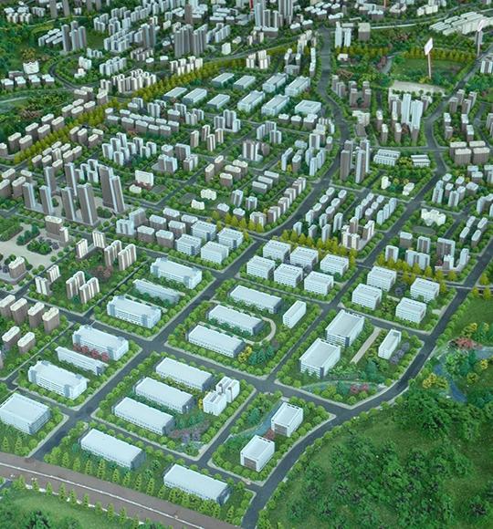 乡村规划建设模型制作