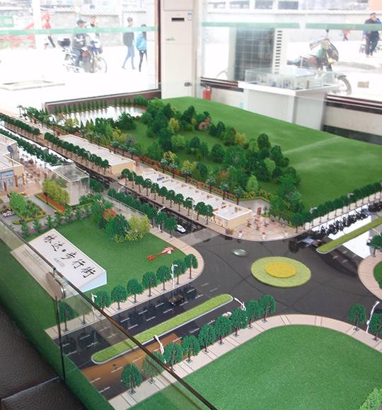 重庆文化街区商业模型制作